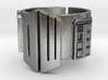 Dr Who and TARDIS Ring 01 (Size 8.75 - adjustable) 3d printed