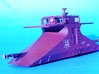 HO CNR Double Ended Plow Body only 3d printed Completed HO Model