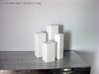 Tower Vase Collection 1:12 scale dollhouse minis 3d printed White Strong & Flexible Polished