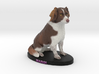 Custom Dog Figurine - Margi 3d printed