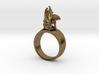 Apini ~ Ring Size 48 3d printed