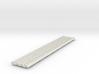R-165-straight-bridge-rail-long-100-1a-x4 3d printed