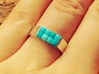 8-bit ring (US7/⌀17.3mm) 3d printed Add a caption...