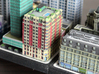 New York Set 1 Hotel 3 x 2 3d printed