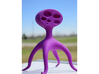 Star Map Kid 3d printed Purple Strong & Flexible Polished