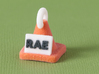 Rally RAE Title Cone Pendant 3d printed