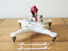 DJI Phantom Widened Foldable legs V2.5 3d printed