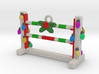 Agility Bar Jump Christmas Ornament 3d printed