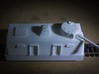 Turret, European #1  (n-scale) 3d printed Direct fire gun ready for action. Units yet to be painted.