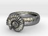 Ammonoidea ring(USA 5.5,Japan 10, Britain K) 3d printed