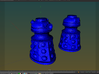 Dalek Post Version B 3d printed