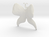 Butterfly (low poly) pendant 3d printed