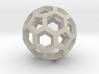 Soccerball pendiente 3d printed