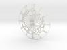 Bubble Heart Clock Face 3d printed