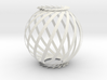 Ball Twist Spiral For Candle or Lantern  3d printed