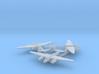 1/700 Tu-2 x3 (FUD) 3d printed