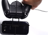 Xbox One controller & chat & Lava Iris 401e 3d printed In hand - A Samsung Galaxy S3 and a black Xbox One controller & chat