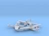 1/700 MBR-2 x3 (FUD) 3d printed