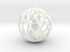 Snowman Christmas Bulb Stars 3d printed