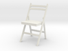 1:24 Wood Folding Chair 3d printed