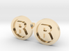Registered Trademark Logo Cuff Links 3d printed