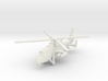 1/300 Chinese WZ-19 Scout Helicopter 3d printed
