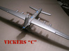 Vickers C (1/285 Scale) - Qty. 1 3d printed Painted by Fred