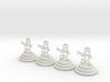 Chess set of Egypt(P) 3d printed