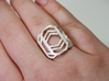 Art Deco Ring - Layers Of Life - US Size 07 3d printed