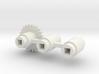 Split-frame Gears For Mainline OO locos. 3d printed