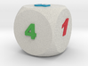Multi-coloured Dice v1.0 3d printed