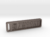 ZWOOKY Keyring 14 rounded 6cm 4mm 3d printed