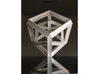 Hyper Cube Perspective enclosed 3d printed
