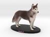 Custom Dog Figurine - Jingle (Standing) 3d printed