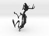 Jackalope Skeleton 3d printed