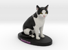 Custom Cat Figurine - Bootsie 3d printed