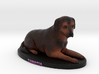 Custom Dog Figurine - Tamatia 3d printed