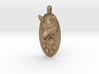 WOLF HEAD&PAWN Jewelry Pendant 3d printed