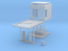 HO-Scale Small Gas Station (In Development) 3d printed