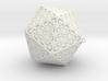 Christmas Tree Ornament Icosahedron Smaller 3d printed