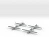 Aeronautica Lombarda AL-12P-1/1600 Scale (Qty.4) ( 3d printed