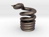 Snake Cigarette Stubber 3d printed Snake Cigarette Stubber in stainless steel