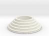 Circular stairs tealight 3d printed