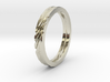 SWIRL ring | size: 6.5 3d printed