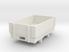 Gn15 small 5ft 2 plank open wagon 3d printed