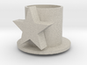 Table Candle Holder With Star - Tafelkaarshouder M 3d printed