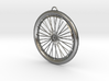 Custom bike bicycle wheel pendant  3d printed