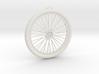 Bicycle Wheel Pendant Big 3d printed