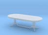 Miniature 1:48 Dining Table 3d printed