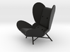 'FREEWING LOUNGE CHAIR' by RJW Elsinga 1:10 3d printed FREE-WING LOUNGE CHAIR by RJW Elsinga 1:10